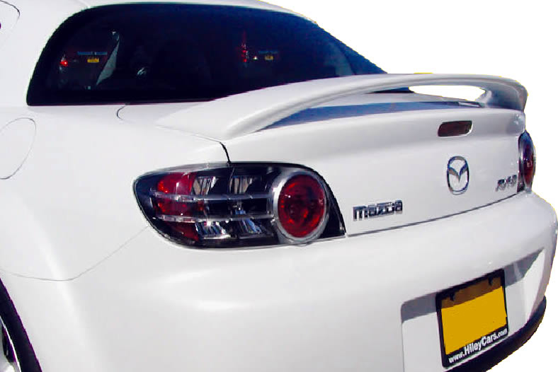 fits 2004 2008 mazda rx8 oe factory style spoiler wing. Black Bedroom Furniture Sets. Home Design Ideas