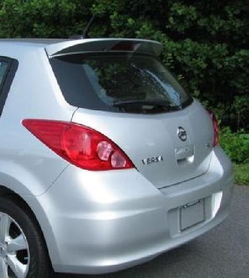 Nissan Hatchbacks: Fits 07-12 Nissan Versa Hatchback Factory Style Spoiler