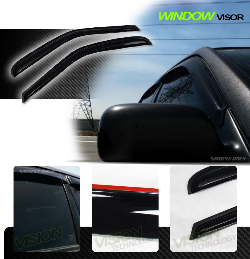 Rain/Wind Vent Shade Deflector Window Visor 2Pc 97-03 F150