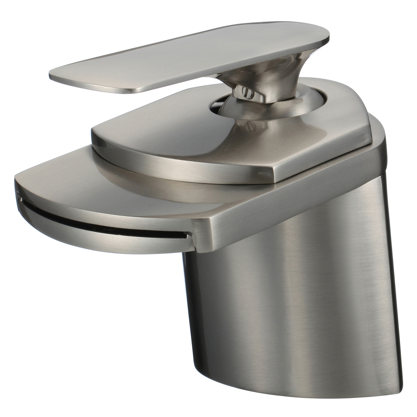 "Modern Kitchen Sink Faucets: 6"" Modern Bathroom Sink Faucet"