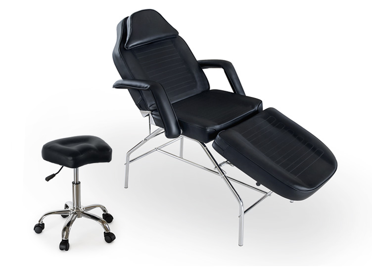 Tattoo spa salon facial bed beauty massage table chair for 2 chairs tattoo