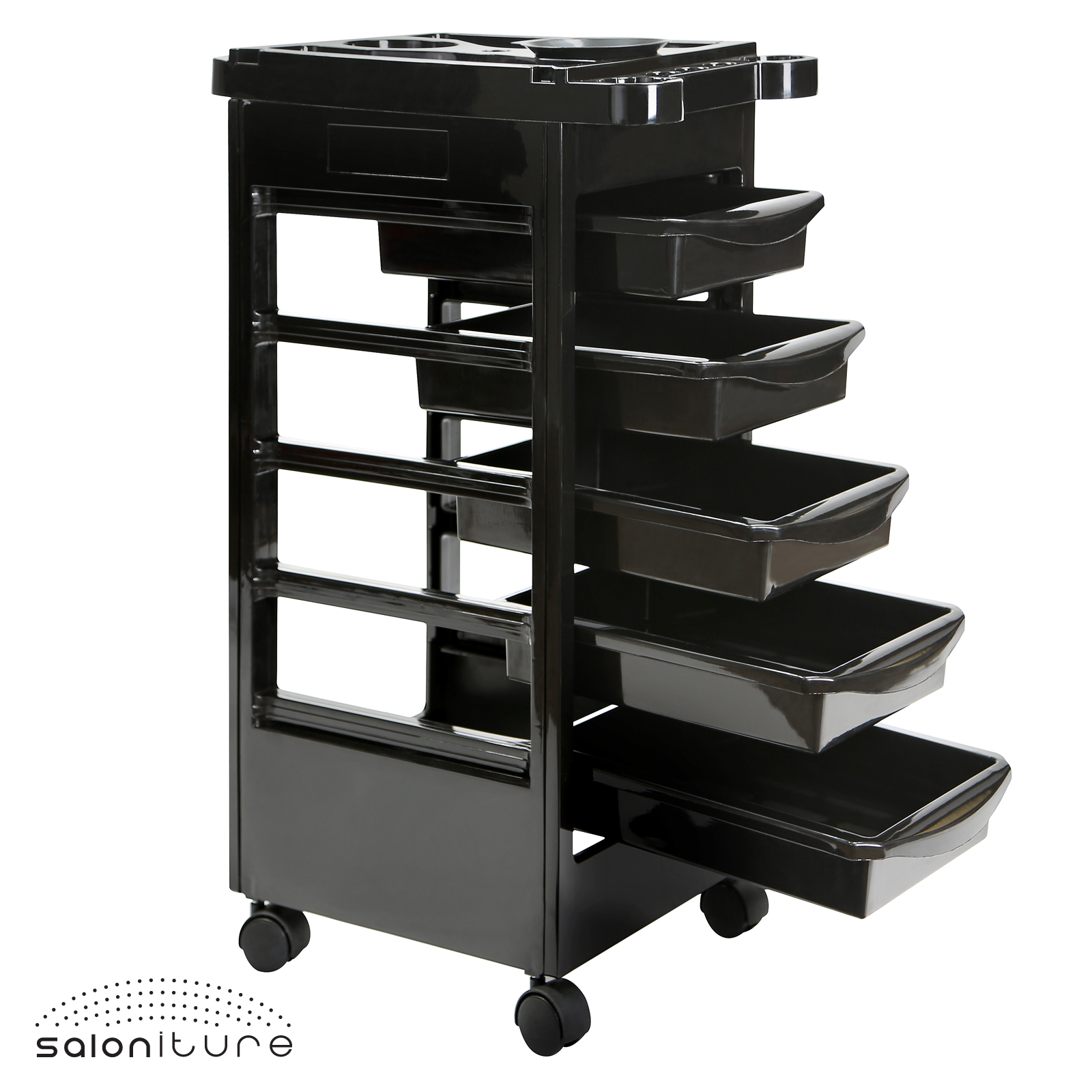 Beauty salon trolley spa styling station equipment for Accessories for beauty salon