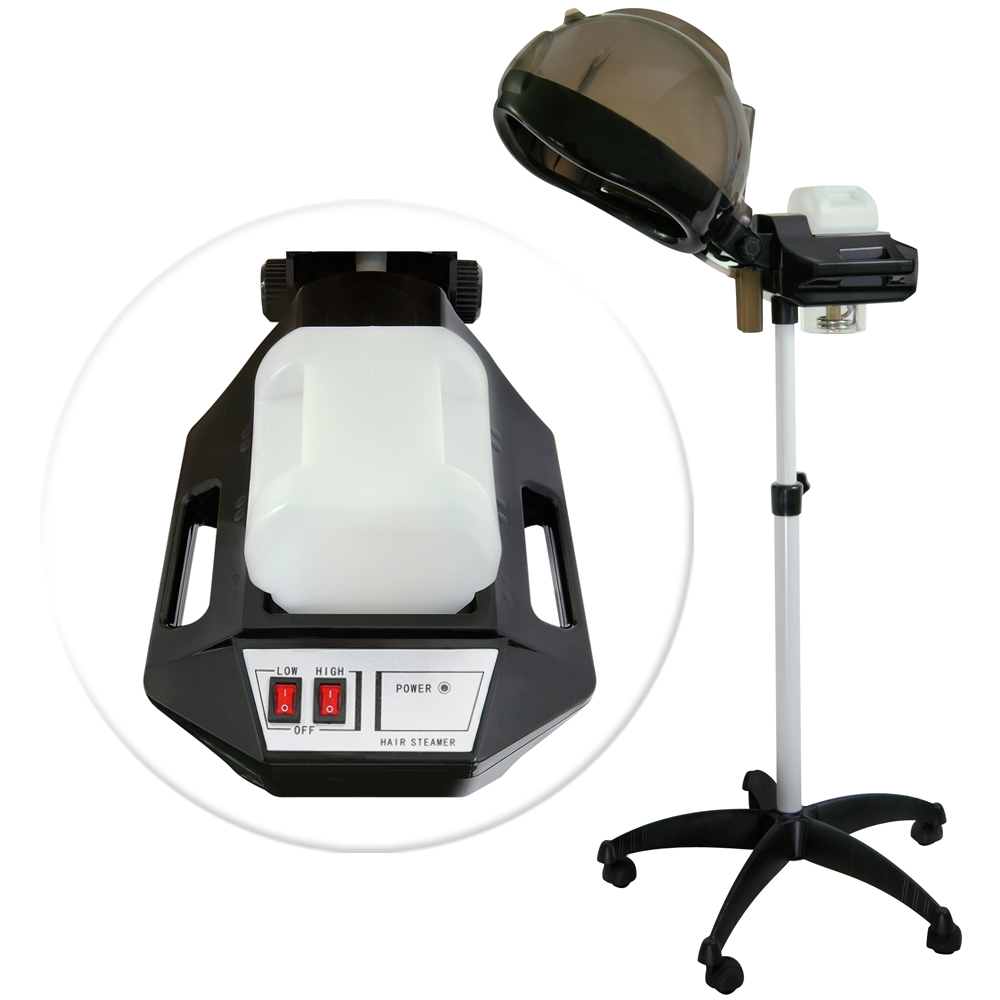 Professional Hair Steamer Rolling Stand Beauty Salon Color: Professional Salon Hair Steamer Hood Color Perm Processor