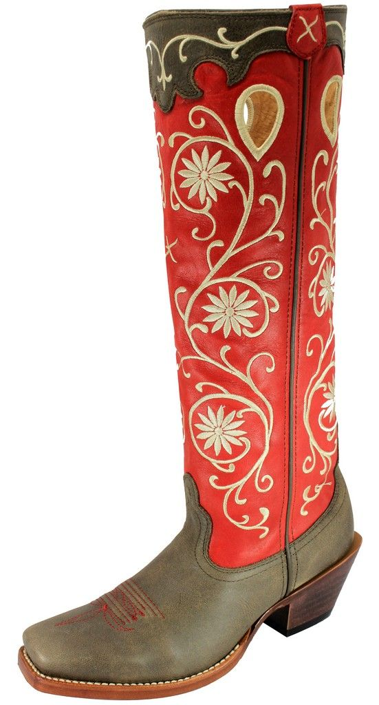Awesome Ariat Womens Round Up Buckaroo Western Boots