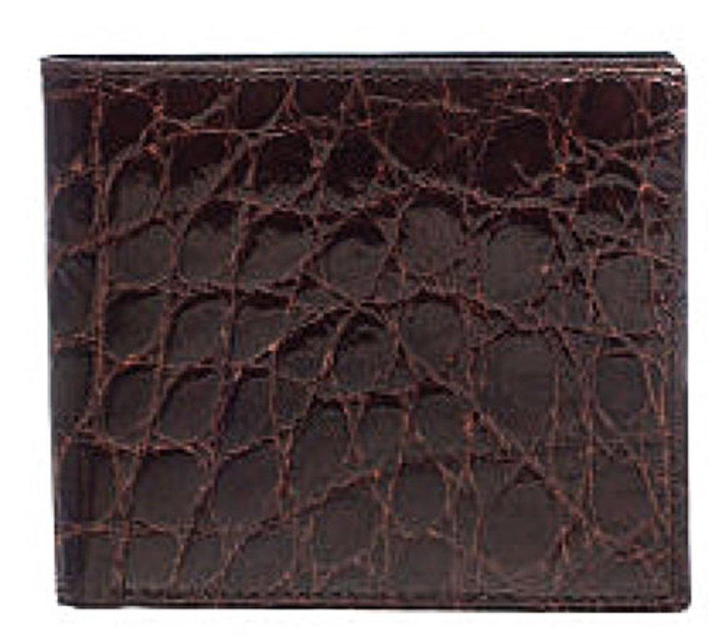 Ferrini Wallet Mens Hipster Alligator Leather Twelve Card