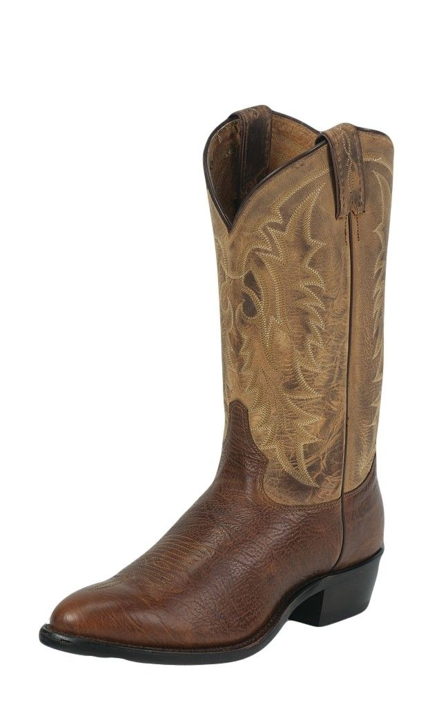 Tony Lama Western Boots Mens Leather Conquistador Shoulder Cognac 7938 at Sears.com