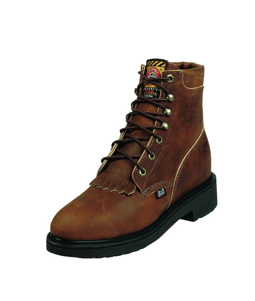 Fantastic Justin Women39s 6quot Steel Toe LaceUp Work Boots  Boot Barn
