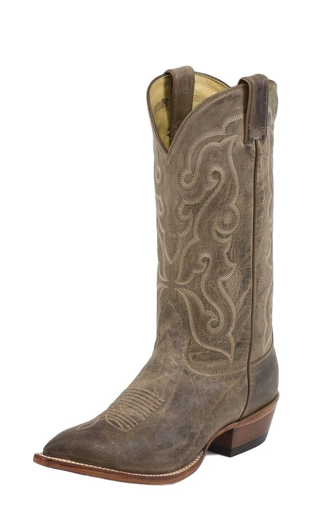 nocona western boots mens leather vintage 13 034 pointed