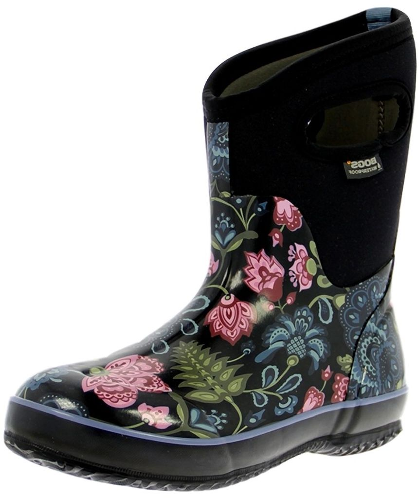 Original A Kneehigh Boot From Bogs Is Made Of Durable Rubber Shoe And Comfortable Stretch Neoprene Upper An Ankle Style From Merrell With Hidden Inside Zip Features A Quilted Nylonandleather Upper And Outs