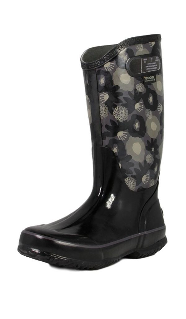 Innovative Bogs Boots Womens Classic Winter Blooms Mid WP Rubber 71533 | EBay