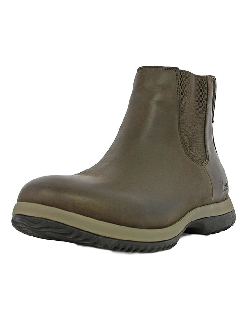 bogs casual boots mens chelsea pull on wp slip