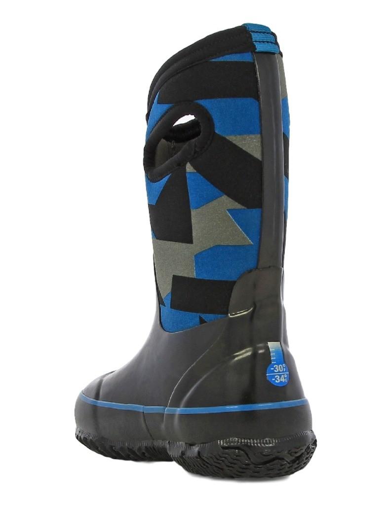Bogs Muck Boots Boys Kids Classic Geo Pull On Waterproof Rubber