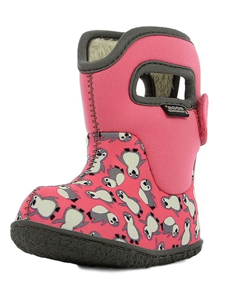 Bogs Muck Boots Girls Baby Penguins Pull On Waterproof Rubber ...