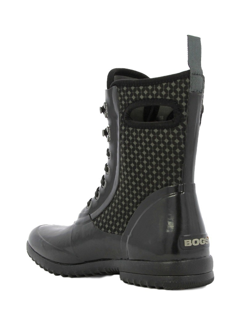 Unique Bogs Boots Womens Classic Watercolor WP Insulated Tall 71787