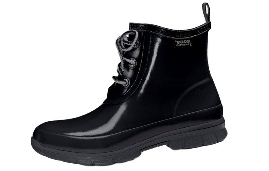 Brilliant Bogs Muck Boots Womens Sidney Lace Solid WP Stacked Heel 71771 | EBay