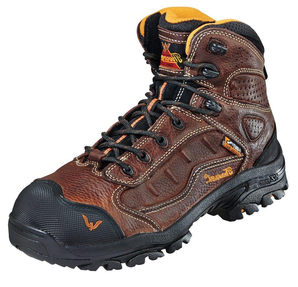 Thorogood Work Boots Men Sport Hiker Composite Toe Dark Brown 804-4043