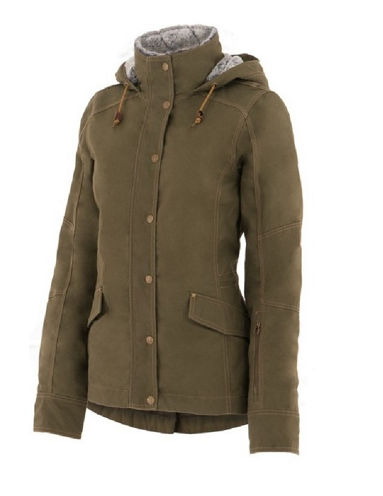 Noble Outfitters Jacket Womens Girl Tough Canvas Hood Outerwear 28509 | eBay