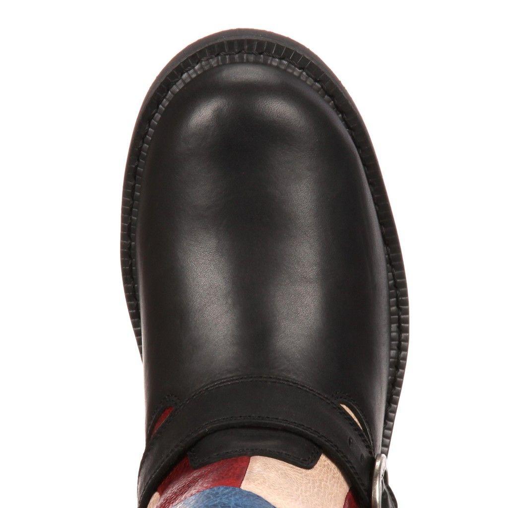 Durango-Fashion-Boots-Womens-9-Soho-Engineer-11-M-Black-DCRD158