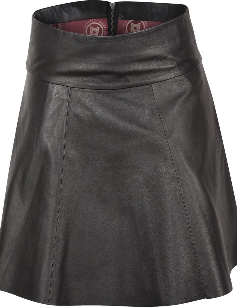 durango western skirt womens leather company tottie flared