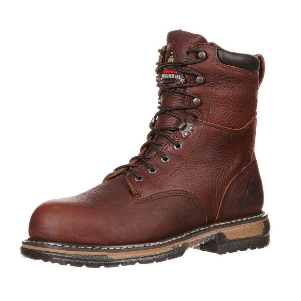 Rocky Work Boots Mens 8