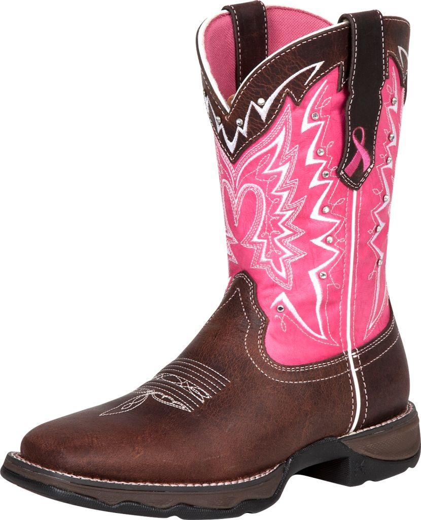 durango western boots womens 10 quot rocker heel square toe
