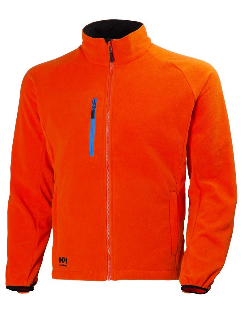 helly hansen work jacket mens eagle lake zip up fleece hh logo 72085 ebay. Black Bedroom Furniture Sets. Home Design Ideas
