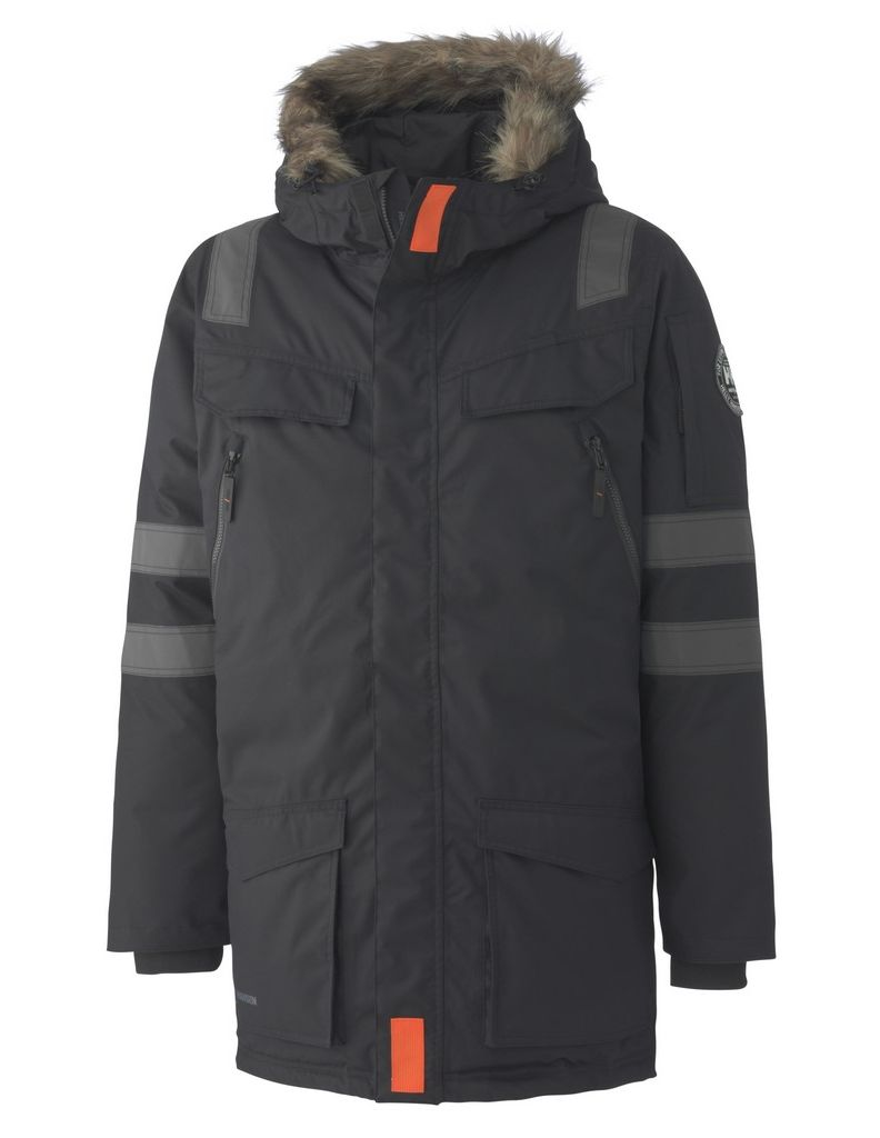 Helly hansen work coat mens boden high visibility for Boden yellow coat