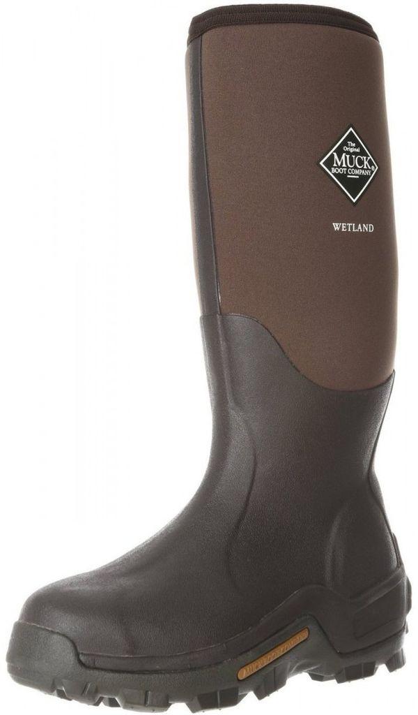 muck boots mens wetland premium wp winter brown