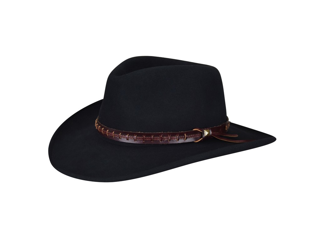 red cowboy hat front