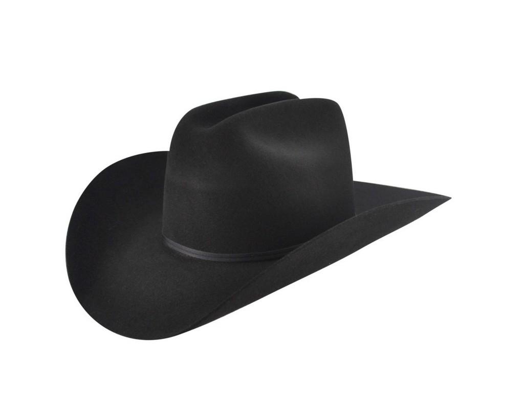 Bailey Cowboy Hat Mens Grosgrain Band Wool Cattleman