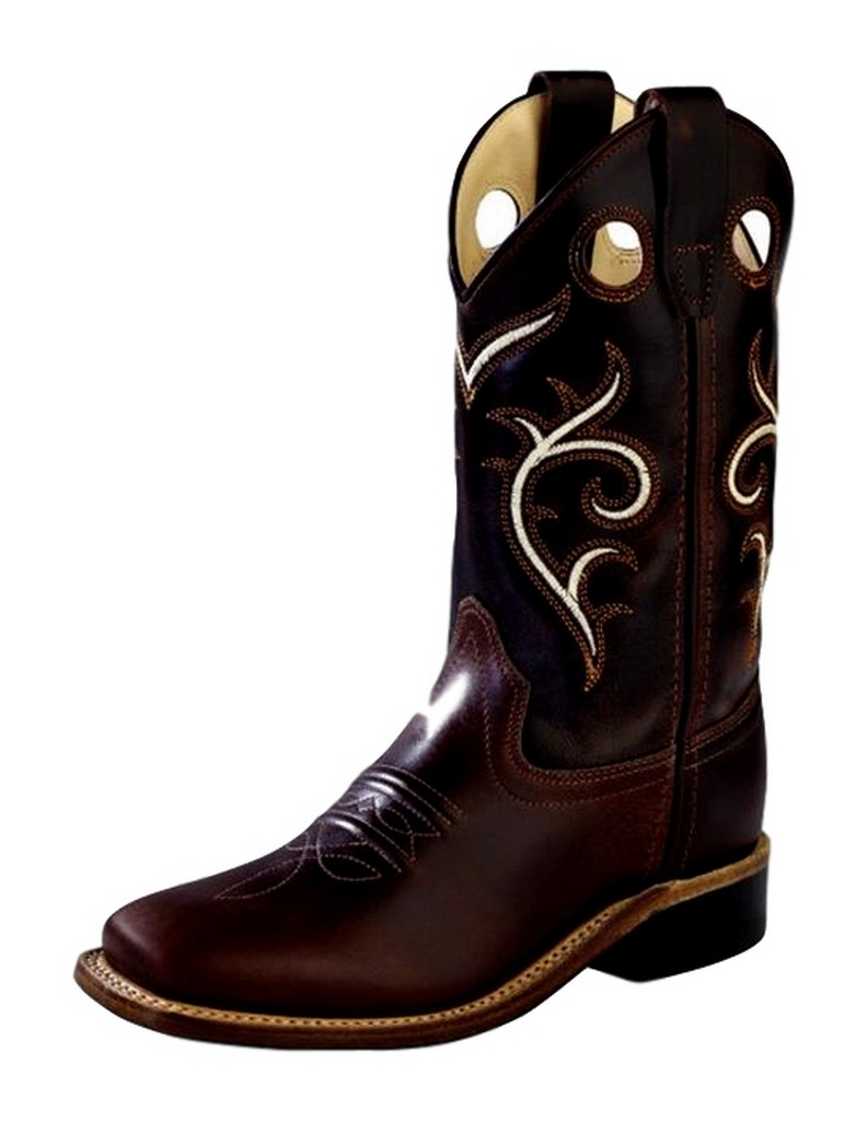 west cowboy boots boys broad square toe