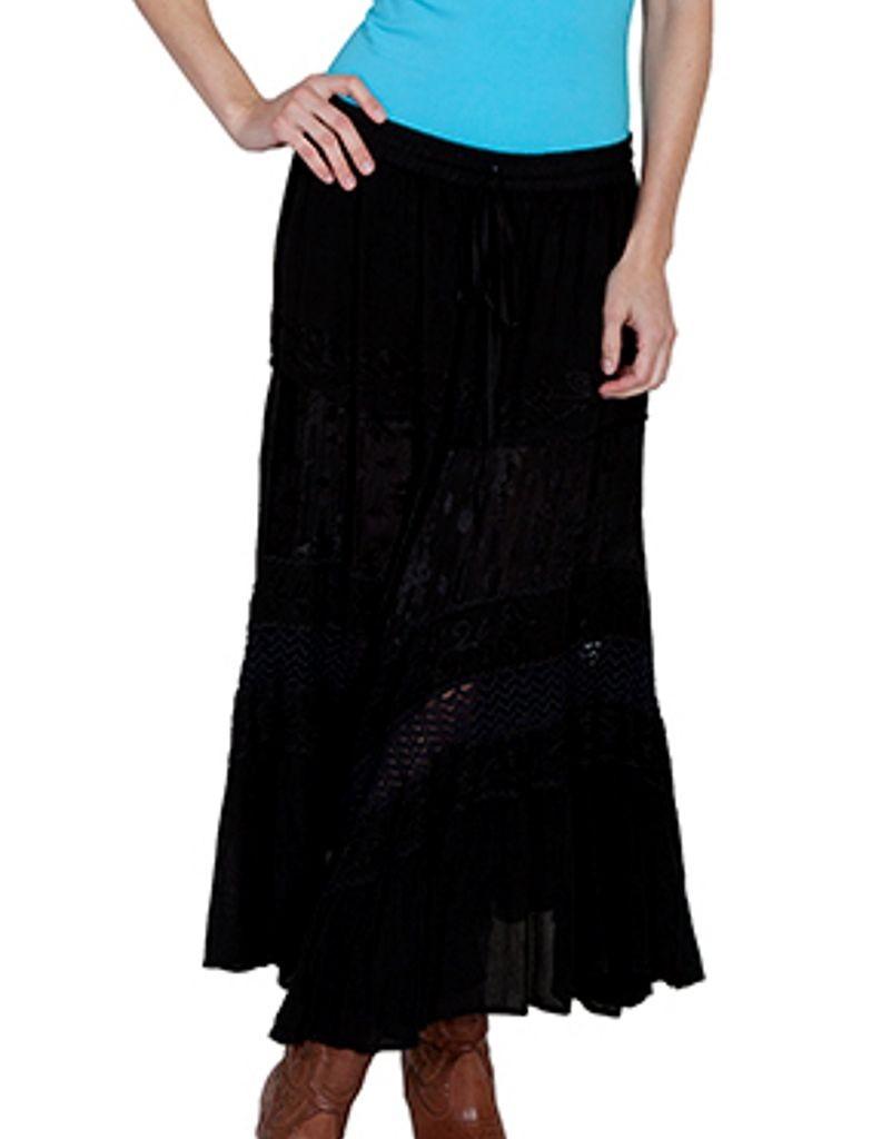 Innovative  About Denim Long Skirt  Indigo  Womens Blue Full Length SKIRT36