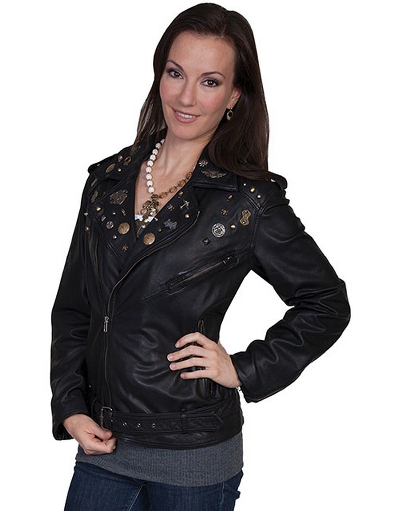 Scully womens leather jackets