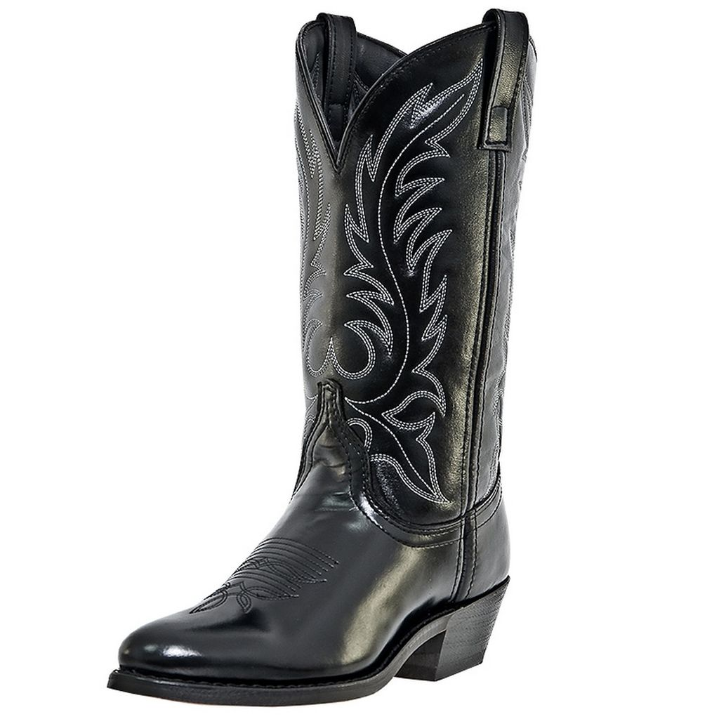 Western Boots Womens Leather Kadi Cowboy Black 5740