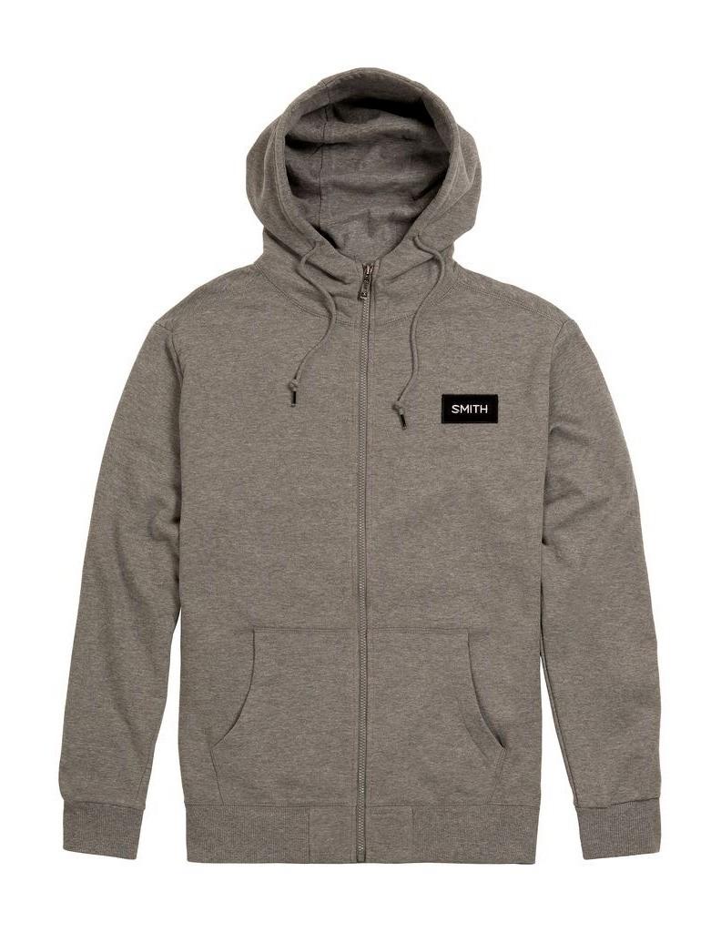 Smith-Optics-Sweatshirt-Mens-Durance-Zip-Hoodie-Gunmetal-SWTM1060