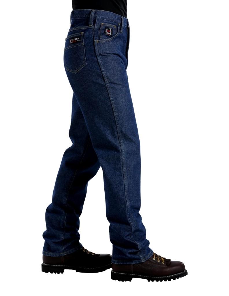 Cinch Western Denim Jeans Mens Wrx Flame Resistant
