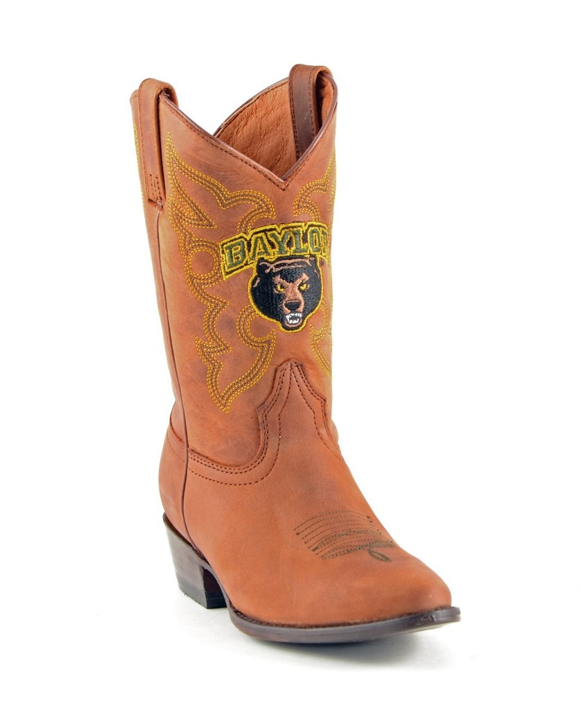 Gameday Boots Boys Cowboy College Team Baylor Honey BAY-B004-1 at Sears.com