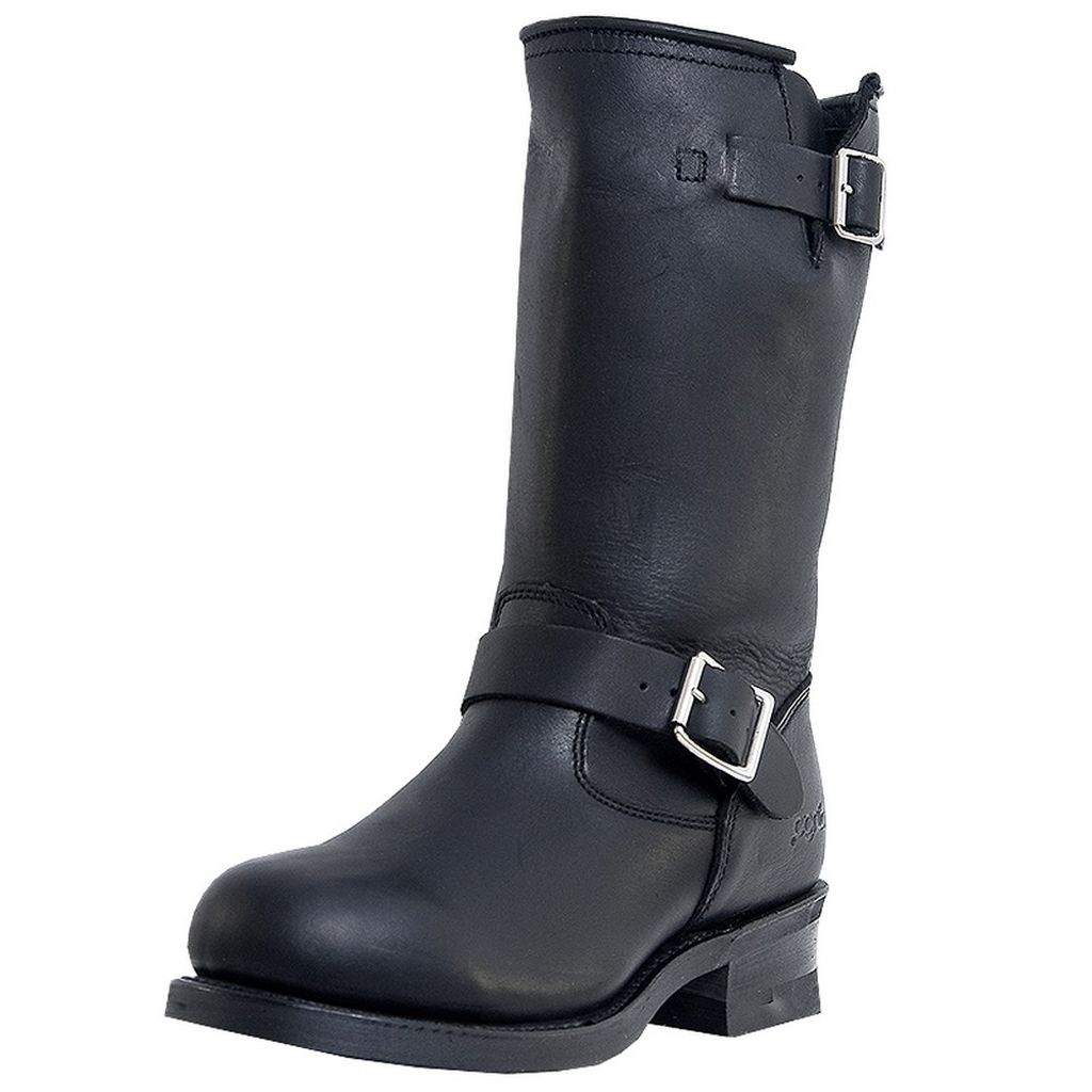 Dingo Motorcycle Boots Mens Rob Engineer Harness Black Di19040