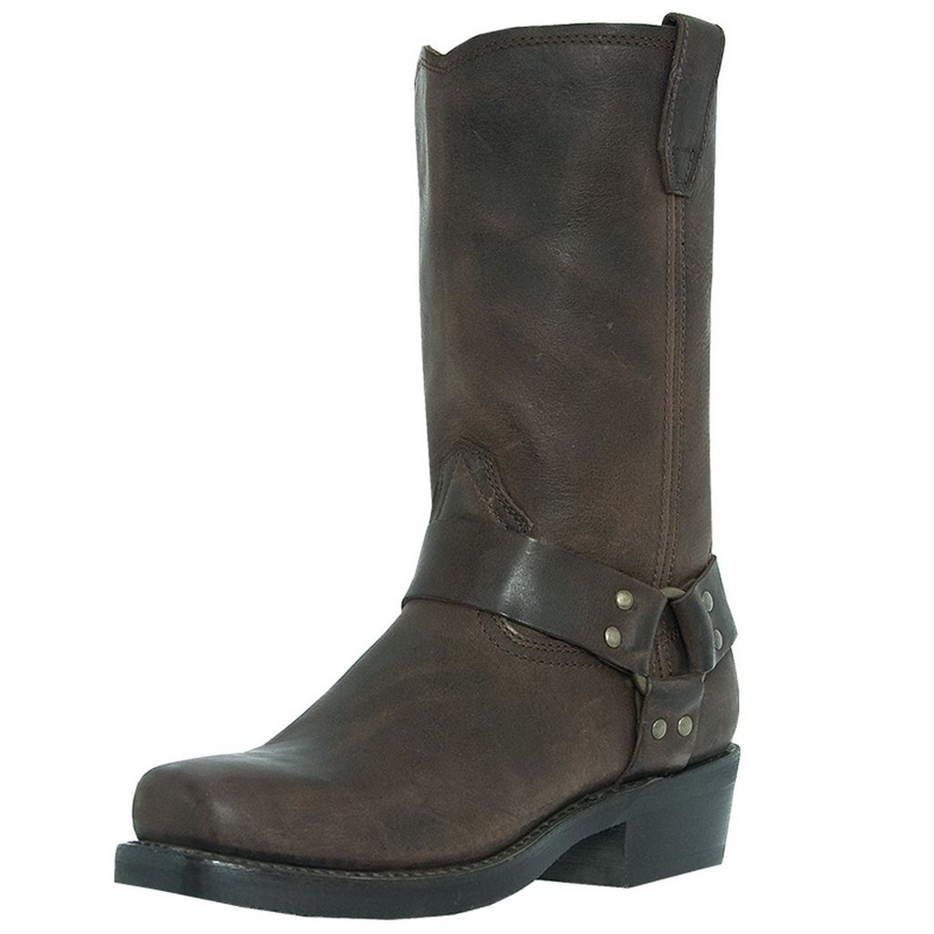 Dingo Motorcycle Boots Mens Jay Harness Gaucho Nutty Mule DI19074 at Sears.com