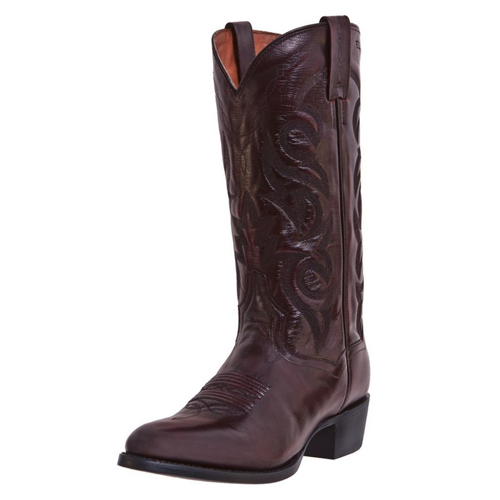 dan post western boots mens milwaukee cowboy black cherry