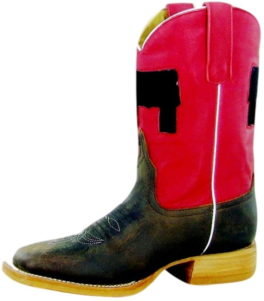 Anderson Bean Western Boots Boys Cowboy Kids Show Steer Brown K7050 at Sears.com