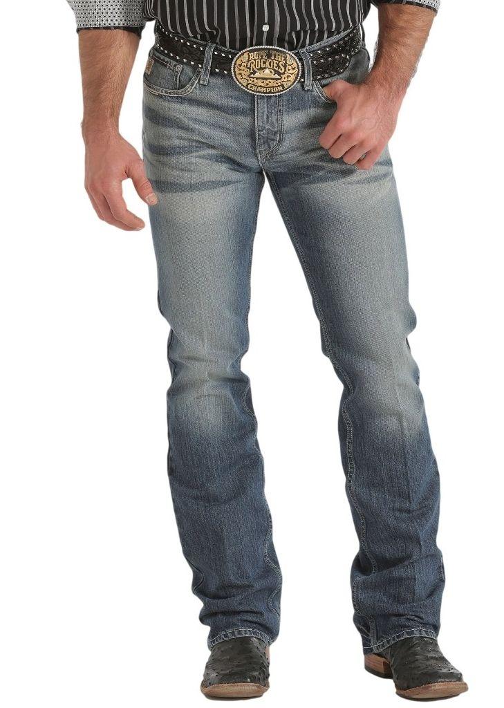 CINCH Western Denim Jeans Mens Ian Rlx Sanded Medium Wash MB71336001 at Sears.com