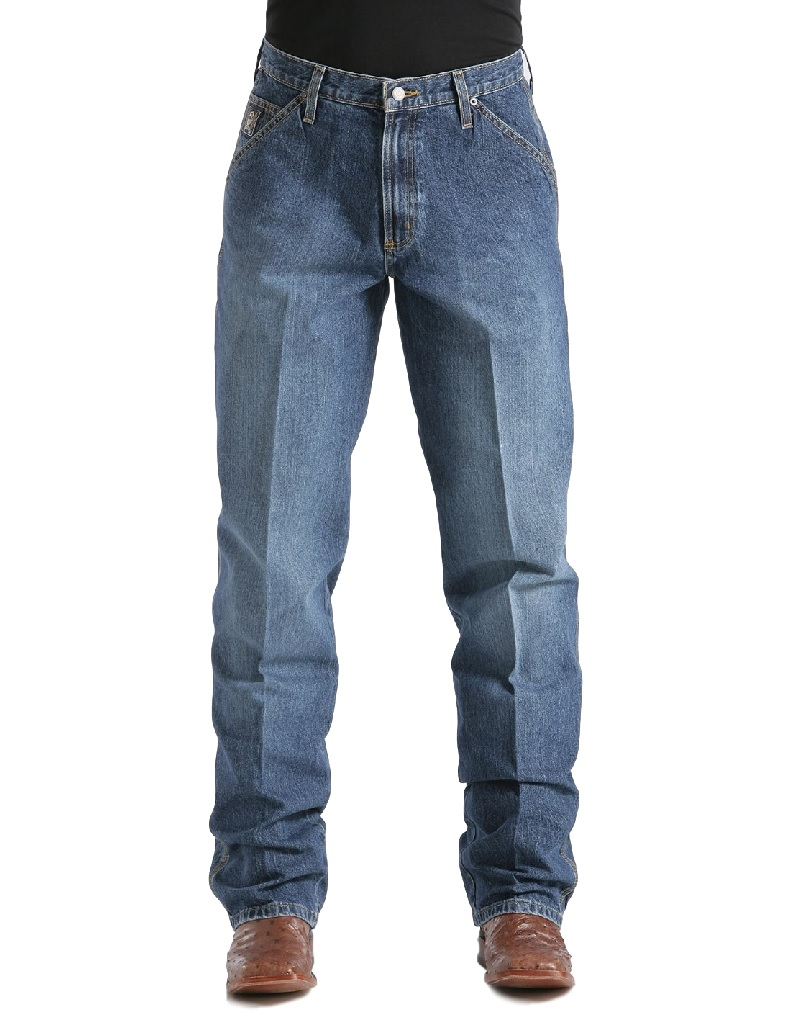 CINCH Western Jeans Mens Blue Label Relaxed Medium Wash MB90434002 at Sears.com