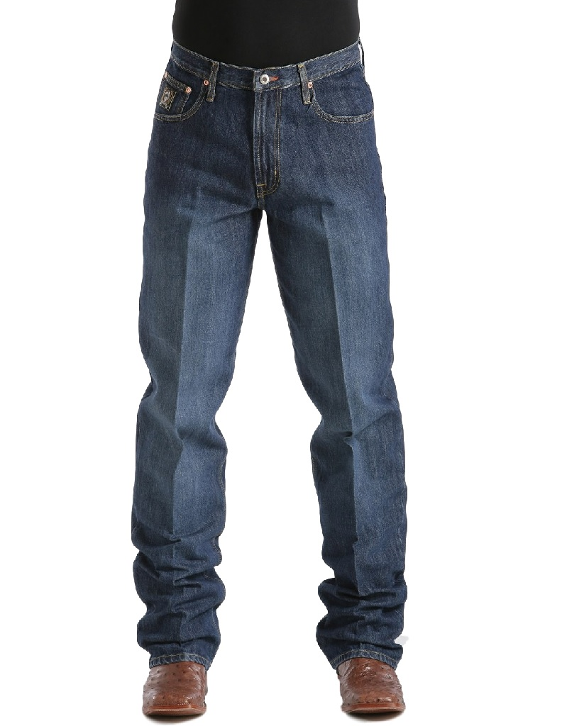 CINCH Jeans Mens Black Label Relaxed Dark Wash MB90633002 at Sears.com