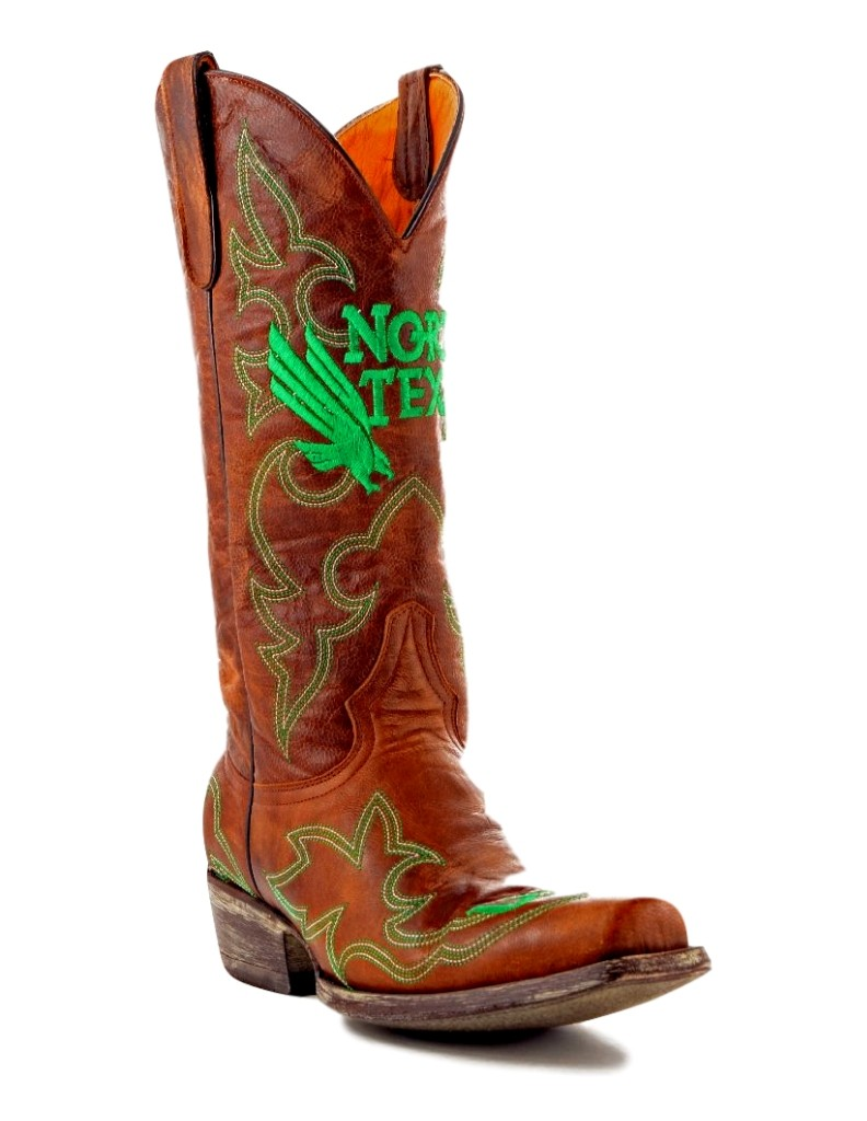 Gameday Boots Mens College Team North Texas Mean Green Brass NT-M020-1 at Sears.com