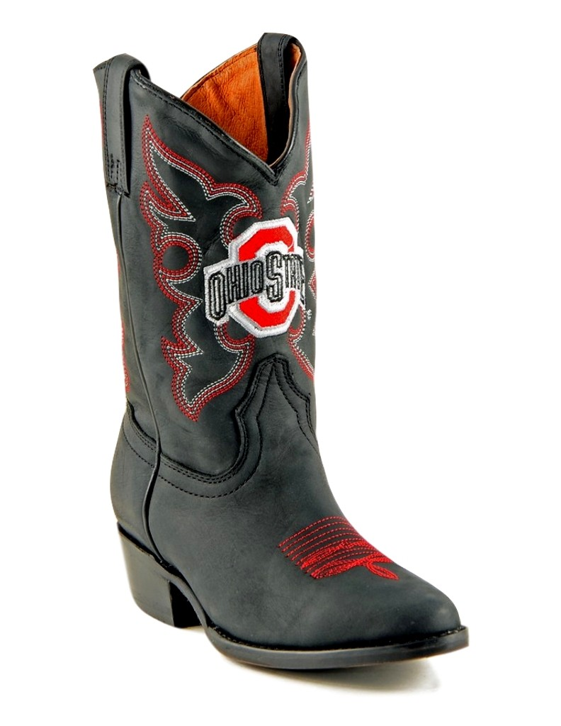Gameday Boots Boys Cowboy College Team Ohio State Black OST-B020-2 at Sears.com