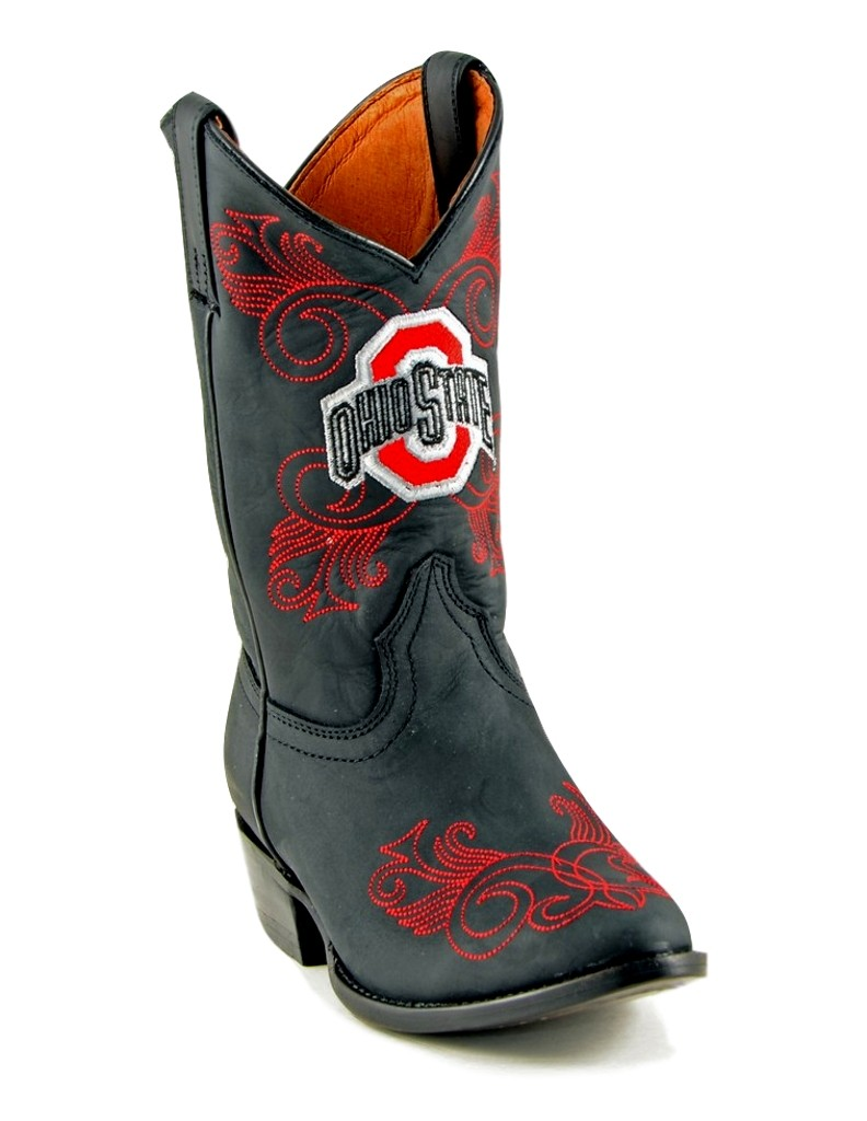 Gameday Boots Girls Cowboy College Team Ohio State Black OST-G020-2 at Sears.com