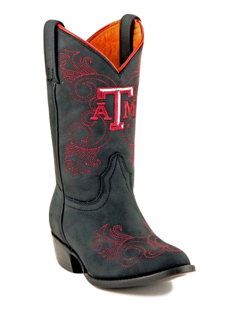 Gameday Boots Girls Leather College Team Texas A&M Reveille TAM-G031-2 at Sears.com