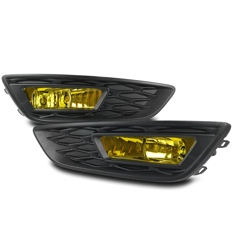 2015 2016 Ford Focus Yellow Front Bumper Driving Fog Light