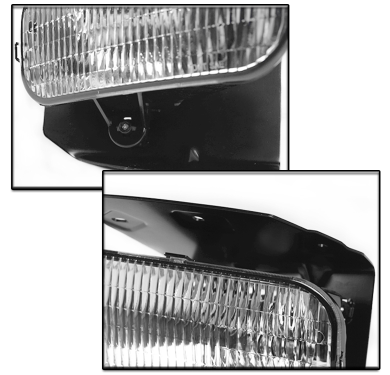 how to clean fog lights on a 2003 f150 fx4